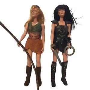 Xena Warrior Princess & Gabrielle 12in Dolls Super Hero Action Figures w/Accs