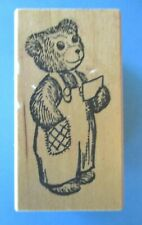 CORDUROY BEAR Rubber Stamp DON FREEMAN Childrens Books KIDSTAMPS 1986