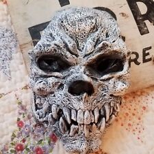 Paper Magic Group 2012 Skeleton Halloween Mask Costume White Walker