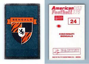 Bengals  #24 American Football 1990-91 Panini Foil Sticker