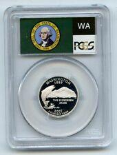 2007 S 25C Silver Washington Quarter PCGS PR70DCAM