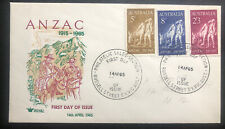 1965 Russell Street Victoria Australia First Day Cover FDC ANZAC