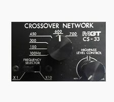 MGT CS-33 Electronic Crossover (Factory Sealed!)