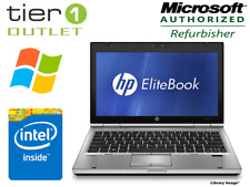 HP EliteBook 2560p Intel Core i5 2.60GHz, 4GB RAM, 320GB HDD, Win 10 Laptop DVD