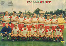 POSTER FC UTRECHT 1971 (COMES FROM DUTCH COMIC MAGAZINE PEP)