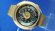 VINTAGE Orologio Dalil musulmani AUTOMATIC 1970 S SWISS NOS NEW OLD STOCK in scatola come 2063