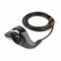 "24V/36V/48V Thumb Throttle Speed Control 7/8"" Fit For E-Bike Electric Scooters"