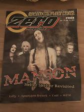Marilyn Manson Zero Magazine