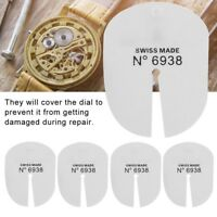 5Pcs Bergeon 6938 Watch Dial Protector Protection Pad Set for Watch Hand Removal