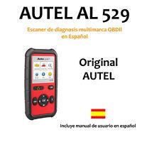 Autel AL529 OBD2 OBDII CAN Escaner de diagnosis multimarca OBDII, ORIGINAL AUTEL
