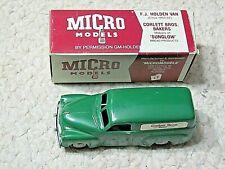 """HOLDEN FJ VAN 1/42th SCALE """"MICRO"""" MODEL...rare."""