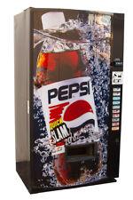 Vendo VMax Drink Vending Machine w/ Pepsi Quick Slam Graphic FREE SHIPPING