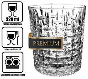 Whisky Gläser Set 300ml Whiskygläser Whiskey Tumbler Glas Becher Gin Rum