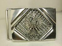 Polish eagle  sterling silver Gents Belt buckle