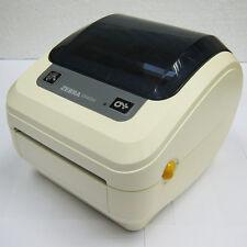 USED Zebra GK420D Direct Thermal Printer Monochrome Desktop Label Print #872W