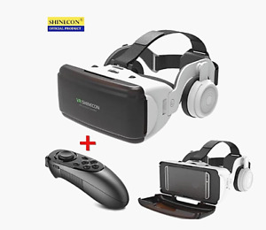 Virtual Reality 3D Glasses Box Original Stereo Helmet for IOS Android Smartphone