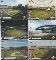 2020 TOPPS OPENING DAY BASEBALL Opening Day TEAM INSERT U-PICK COMPLETE YOUR SET