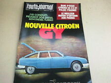 L AUTO JOURNAL - N° 4  - ANNEE  1979  *