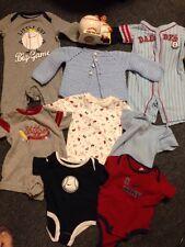 Nike Baseball Baby Infant Toddler Lil Slugger Huge Lot Boy Clothers And Bank