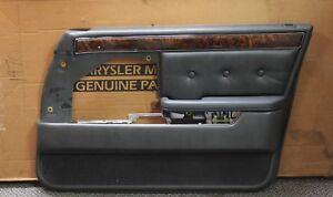 New OEM Mopar Right Interior Door Panel K128GS8 1989-1993 Dodge Dynasty