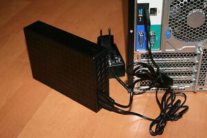 Backup  2 TB  im externen Gehäuse     > SATA< >USB<