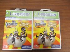 + LeapFrog Leapster 2 Learning Game Penguins of Madagascar Race For 1st Place