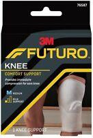 FUTURO Knee Comfort Support Mild Medium Compression Right or Left, 1 Pack