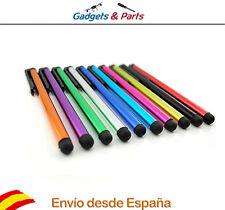 Lapiz Pen Stylus Puntero Metálico Punta Goma Universal Para Android Tablet Movil