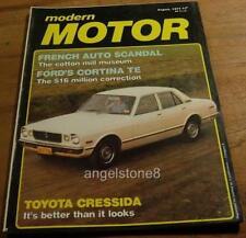 1977.MOTOR.PORSCHE SPEEDSTER.Volvo 265.Cortina.SCHLUMPF Museum.COSWORTH.Cresida