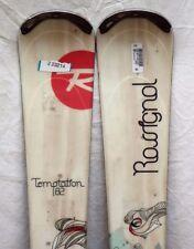 12-13 Rossignol Temptation 82 Used Women's Demo Skis w/Bindings Size144cm#223214