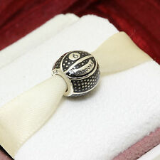 * Authentic Pandora Charm Basketball 791201EN44 Daughter Son Sports Charm