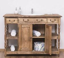 Waschtisch Waschbeckenunterschrank Wandtisch Wandkonsole Massivholz MIT Becken