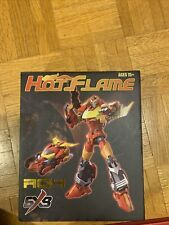 transformers 3rd party masterpiece idw hot rod sxs r04 hot flame