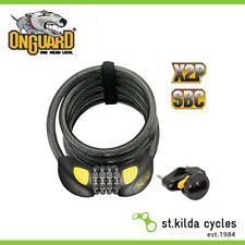 OnGuard Doberman Coil Combo Bike Lock 185cm X 12mm