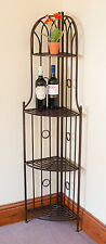 Versailles Style Metal Corner Rack- Ideal as a plant stand or general shelving