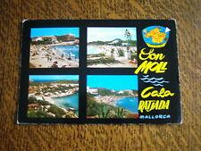 carte postale mallorca (baleares) espana cala ratjada son moll