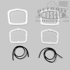 DMT Mopar 1963 63 Plymouth Belvedere Fury Savoy Taillight Gaskets WITH Trim