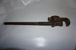 """Vintage Stillson Walworth 24"""" Pipe Wrench Made in USA"""