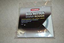 Tourna Big Hitter Silver Rough Tennis String 40 ft 17 Gauge