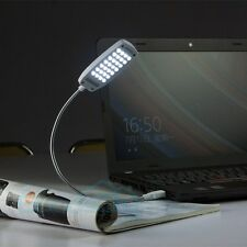 Bright 28 LED USB Mini Light Flexible Computer Lamp Laptop PC Desk Reading Lamp