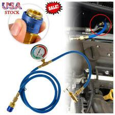 R134A Manifold Gauge Set -30~250psi Refrigeration Test Charging With Hoses US