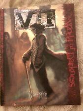 REDUCED!! Vampire The Requiem RPG: VII hc World Of Darkness