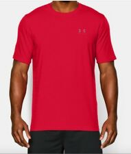 Under Armour * UA Charged Cotton Left Chest Lockup Tshirt Red