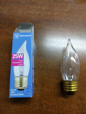 10 bulbs Westinghouse 25W CA10 Flame Tip Incandescent Clear E26 (Med) Base