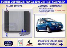 Coprisedili Fiat Panda Cross 2003>2011 set fodere auto copri sedili sedile kit