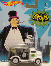 Hot Wheels Batman classico della TV serie The PINGUINO '49 Ford Coe DIE CAST