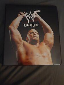 WWF Superstarz Trading Card Binder
