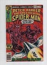 Spectacular Spider-Man #27 - 1st Frank Miller Daredevil Art- 1979 (Grade 8.0) WH