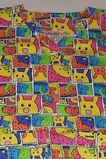 LANDAU Women's Medical Scrub Animal Print Multi Colored MEDIUM