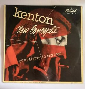 Stan Kenton New Concepts Of Artistry In Rhythm  Capitol Records, LCA 383